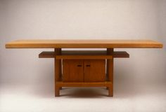frank lloyd wright metropolitan museum | Frank Lloyd Wright: Table (1972.60.3) | Heilbrunn Timeline of Art ...