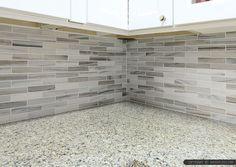 Best Gray White Some Brown Tones Modern Subway Kitchen 400 x 300