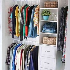 Diy Reach In Closet Organization Ideas With Decor Modern Closet ... |  Remodel Ideas | Pinterest | Closet Design Tool, Closet Designs And Closet  Organization