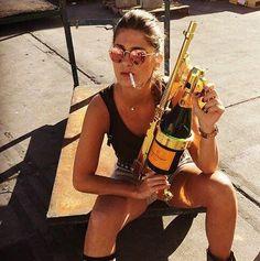 Gold Champagne Gun