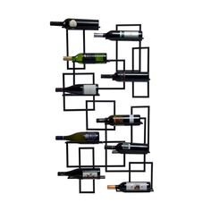 Metal Mod Wine Wall Pod | dotandbo.com I think this may just be perfect for my pass through area (kitchen to dining room) but I have to measure to be sure. It is non-returnable...Phew, dislike measuring.