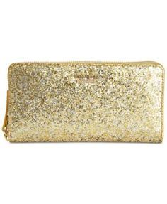 kate spade new york Glitter Bug Lacey Continental Wallet