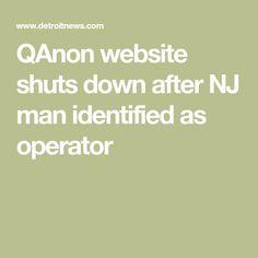 QAnon website shuts down after NJ man identified as operator Fact Checking Sites, Eric Trump, Federal Bureau, Web Analytics, News Media, Supreme Court, Ukraine, Russia