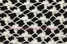 Tutorial: punto red de flores margaritas tejido a crochet (crochet daisy flower ned tutorial)