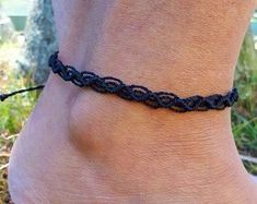 Macrame Anklets Multi Colour Friendship Stacking Ankle Bracelets Hippie Boho Anklet Sweet and Simple Summer Holiday Gift for Him and Her