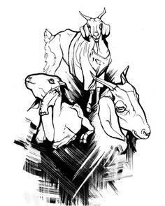 INDIA Varanasi Sketches by Olga Tarasova, via Behance