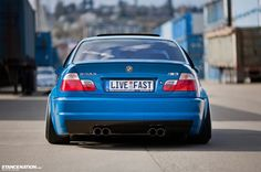 Slammed Flush BMW M3 E46 (6)