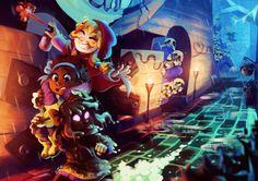thank you so much for letting me be a part of the zine, i'm so glad i got to work on something i love! here's the kids spraypainting mafia town to their heart's content Knight Games, A Hat In Time, Turn Blue, Time Games, Little Games, Adventure Games, Game 4, Time Art, Best Dad