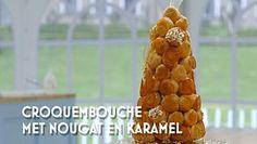 Heel Holland Bakt: Croquembouche met nougat en karamel