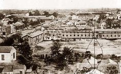 Barracks of 124th Illinois Infantry, Vicksburg, Mississippi