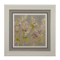 Ethereal Flowers II Framed Art
