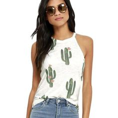 Top Crop Women Irregular Printing Sleeveless Loose Tank Top Chalecos Mujer Top Feminino#@30 Uhren & Schmuck
