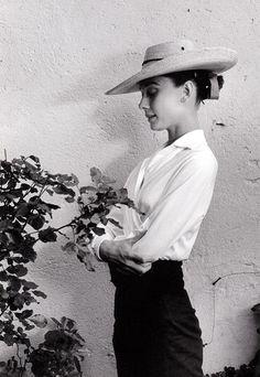 Audrey Hepburn, 1958. Photograph by Inge Morath.