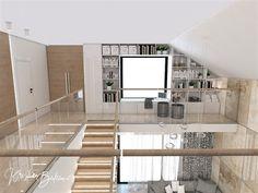 Návrh rodinného domu Rodinný dom s wellness, pohľad z galérie na knižnicu Stairs, Furniture, Home Decor, Ladders, Homemade Home Decor, Stairway, Home Furnishings, Staircases, Decoration Home