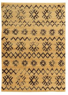 Linon Moroccan Collection RUGMC04 Camel/Brown Area Rug – Incredible Rugs and Decor