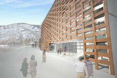 New Aspen Art Museum Features Green Interior Systems Wrapped in Wicker Design | ENR: Engineering News Record | McGraw-Hill Construction