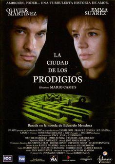 La Ciudad de los prodigios (DVD ESP CAM), basada en la novel·la homònima d'Eduardo Mendoza.