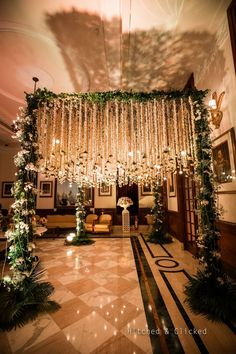 Photo from Sakshi & Achal Wedding Wedding Backdrop Design, Wedding Stage Design, Desi Wedding Decor, Floral Wedding Decorations, Wedding Mandap, Wedding Walkway, Wedding Entrance, Indian Wedding Planning, Marriage