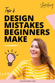 Are you making these four design mistakes? I see beginners making these 4 mistakes when designing a website for their business. Check out the video to find out these design mistakes YOU might be making that hurt your ability to make money from your website.
