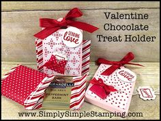 "I was playing around with the Sealed with Love bundle and this little ""pull tab"" idea came to me.  OH MY GOSH!  So cute! What a fun way to give a sweet Valentine treat to the …"
