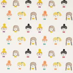 Products | Scion - Fashion-led, Stylish and Modern Fabrics and Wallpapers | Hello Dolly (NSCK131656) | Guess Who? Fabrics