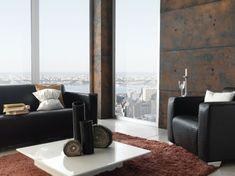 wandpaneele steinoptik wohnzimmer wandgestaltung