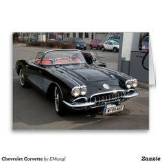 Chevrolet Corvette Greeting Cards