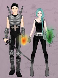 Karou And Akiva by GeekHipsterReader on DeviantArt
