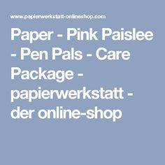 Paper - Pink Paislee - Pen Pals - Care Package - papierwerkstatt - der online-shop