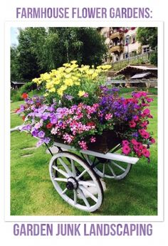 container gardening flower cart for the Country Cottage Garden Flower Garden, Garden Design, Plants, Small Gardens, Garden Organization, Outdoor Gardens, Container Gardening, Garden Containers, Outdoor Planters