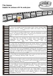 free cinema worksheets vocabulary for kids Entertainment Websites, Video Websites, Movie Website, Film Genres, Dangerous Minds, Film Studies, Film Review, Marketing Plan, Reading Comprehension