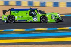 LE MANS #40 Krohn Racing Ligier JS P2: Tracy Krohn, Nic Jonsson, Joao Barbosa