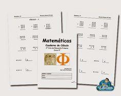 RECURSOS PRIMARIA | Cuaderno de cálculo de 4º de Primaria ~ La Eduteca