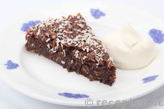 Chokladbollskladdkaka Baking Recipes, Cake Recipes, Dessert Recipes, Desserts, Halloumi, Fika, Food Cakes, Sweet And Salty, Good Mood
