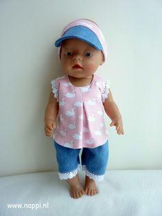 Zomerkleding / Baby Born 43 cm | Nappi.nl