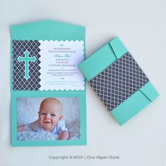 10 Baby Christening Baptism or Dedication by ChicPaperChick, $25.00