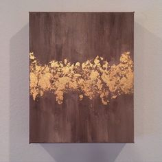 A personal favorite from my Etsy shop https://www.etsy.com/listing/245975616/abstract-gold-leaf-painting-free