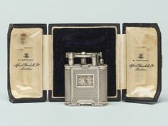 Antique Lighter Silver Dunhill watch lighter 1920s