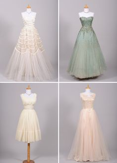 Authentic vintage wedding dresses | mill crest vintage offers an amazing collection of authentic vintage
