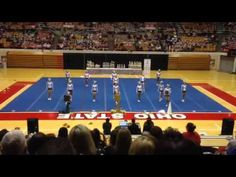 Dublin Jerome All-Year Cheer 2015 tumbling ripple & dance Cheerleading Videos, Cheer Stunts, Cheer Dance, Cheer Routines, Cheer Coaches, Before I Die, Dublin, Cheers, Basketball Court