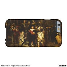 Rembrandt Night Watch Barely There iPhone 6 Case