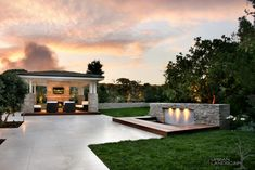 Check out this outdoor patio design!  What do you think?