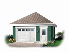 Best 84 Best 1 Car Garage Plans Images In 2020 Garage Plans 400 x 300