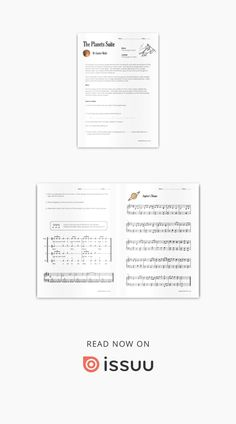 Holst's Mars & Jupiter Worksheet  A classroom lesson for listening, group performance and fun!