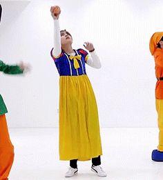 BTS | V snow white