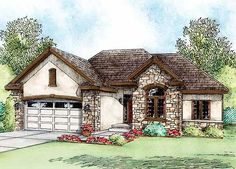 - 42181DB | European, French Country, Narrow Lot, 1st Floor Master Suite, CAD Available, Den-Office-Library-Study, PDF, Split Bedrooms | Architectural Designs
