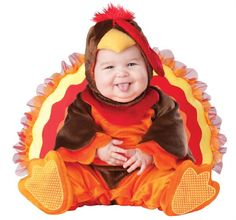 Amazon.com: Lil Characters Unisex-baby Infant Gobbler Costume: Clothing