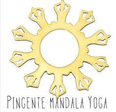 Pingente  Pingente Mandala Yoga  Ouro 18k  Disponível em vários tamanhos, desenho registrado. Yoga Manadala Pendant  in 18k Gold, selling in Brazil and USA. , registered desing, several sizes.