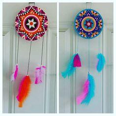 Dreamcatchers perler beads by burritoprincess