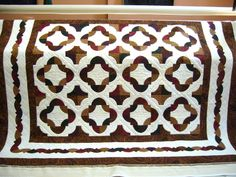 caledonia quilter: Drunkards Path Quilt & Barbeque Disposal